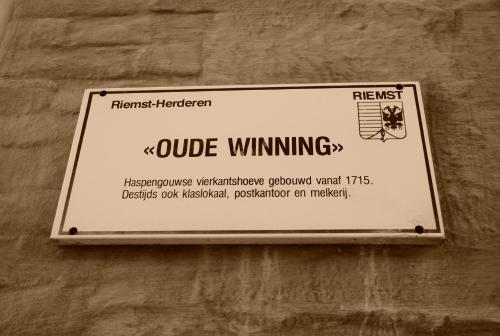 B&B De Oude Winning