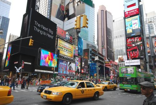 Studio in Times Square Photo