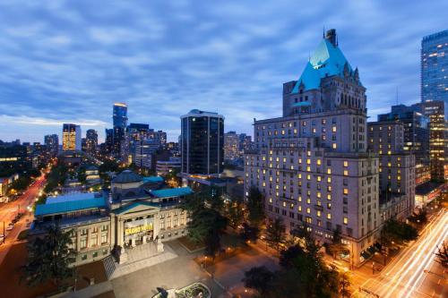 Fairmont Hotel Vancouver - Vancouver, BC V6C 2W6