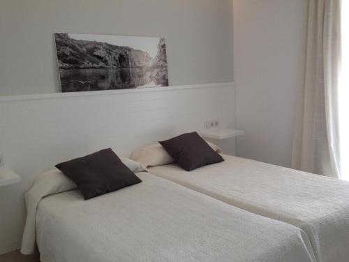 Economy Zweibettzimmer Hostal La Palma 12