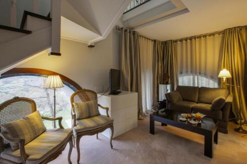 Habitación Doble Dúplex Castillo Del Bosque La Zoreda 9