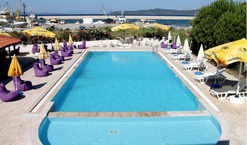 Mordogan Liman Apart Hotel odalar