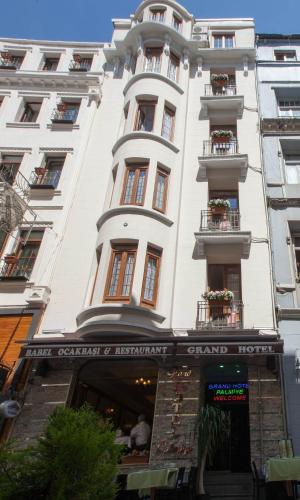Istanbul Grand Hotel Palmiye harita
