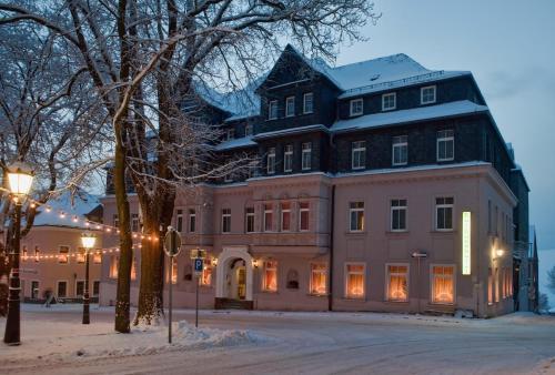 Bild des Rathaushotels Oberwiesenthal