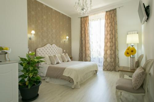 Doppelzimmer mit Panoramablick Hostal Central Palace Madrid 4