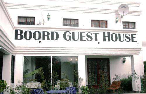 Boord Guest House Photo