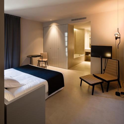 Habitación Doble Superior - 1 o 2 camas - Uso individual Caro Hotel 6