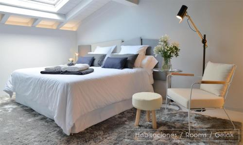 Doppel- oder Zweibettzimmer Hotel Garaiko Landetxea 20