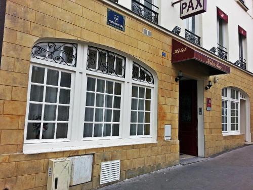 Pax Hotel Paris 18e H 244 Tel 5 Rue Des Poissonniers 75018