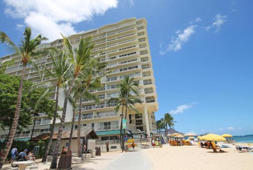 Castle Waikiki Shore Beachfront Condominiums Photo