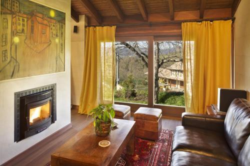 Villa Deluxe de 1 dormitorio La Corte de Lugás 5