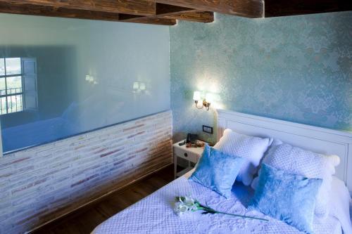 Vierbettzimmer mit Bergblick Hotel Real Posada De Liena 9