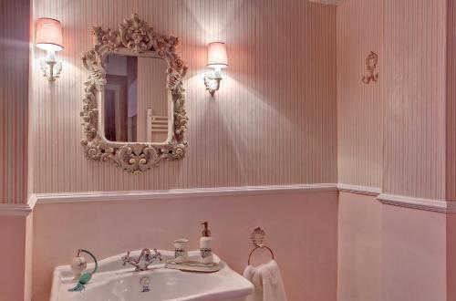 Vierbettzimmer mit Bergblick Hotel Real Posada De Liena 16