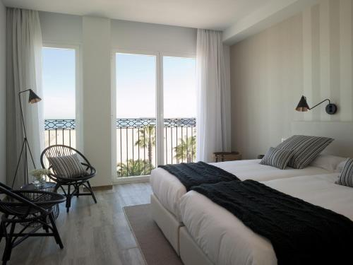 Double Room with Sea View - single occupancy Hotel Boutique Balandret 30