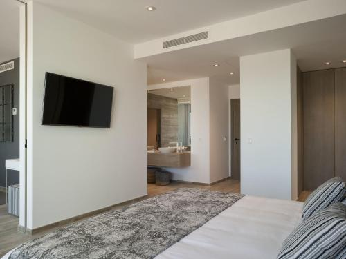 Junior Suite with Sea View - single occupancy Hotel Boutique Balandret 8