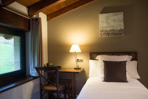 Habitación Individual con vistas a la montaña Osabarena Hotela 1