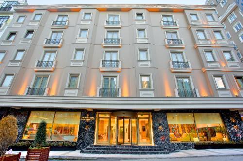 Istanbul The Parma Hotel & Spa Taksim harita
