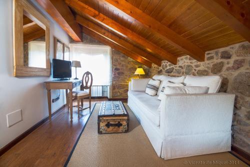 Habitación Doble Superior Hotel Rustico Lugar Do Cotariño 21