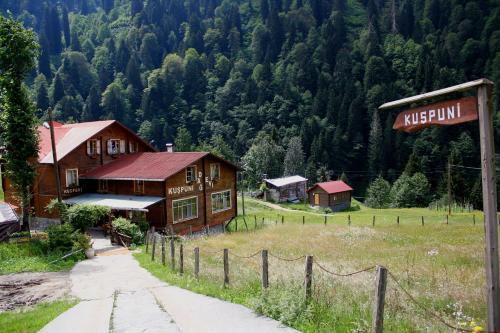 Ayder Yaylasi Kuspuni dag evi online rezervasyon