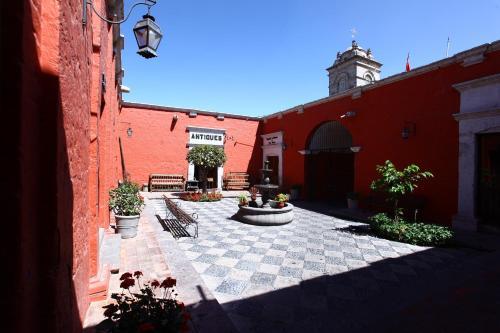 San Agustin Posada del Monasterio Photo