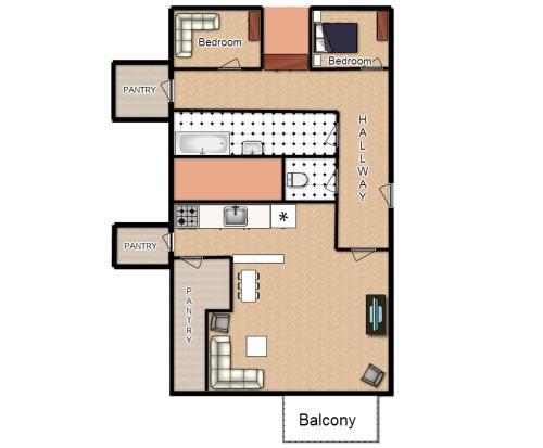 Modern Apartment Dlouhá