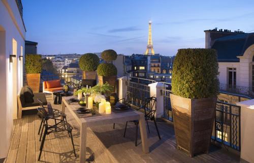 Hotel Marignan Champs-Elysées impression