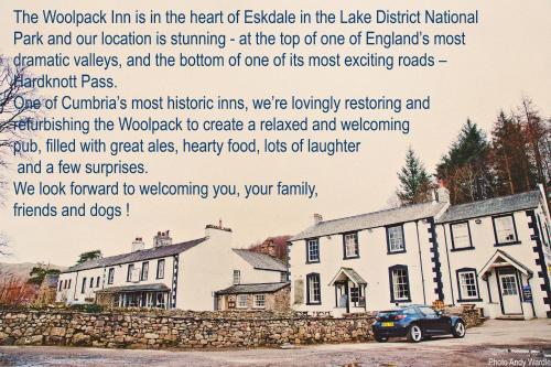 Hardknott Pass, Eskdale, Lake District, Cumrbia CA19 1TH, England.