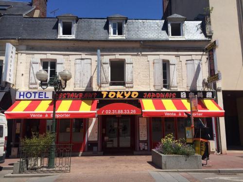Hotel Restaurant Rue Des Bains Trouville Sur Mer