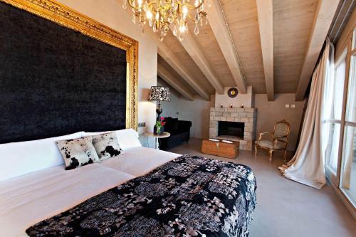 Habitación Deluxe La Vella Farga Hotel 14