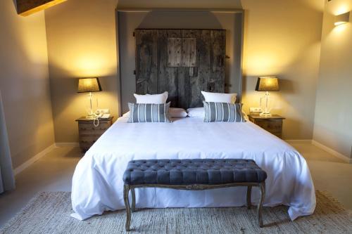 Suite Junior con terraza Hotel Mas De Cebrian 15