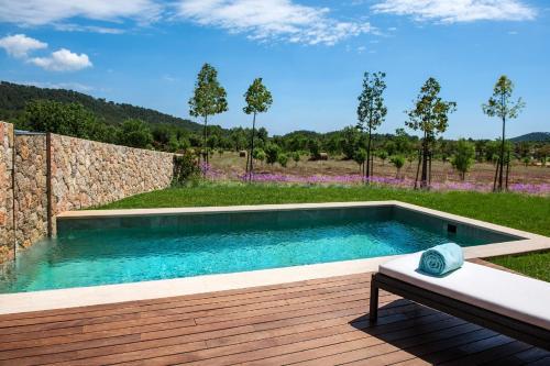 Suite con piscina privada Castell Son Claret 4
