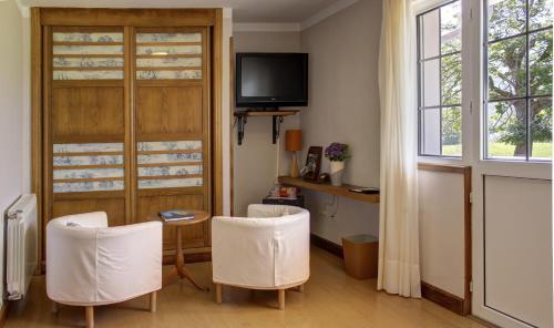 Superior Doppelzimmer mit Whirlpool-Badewanne Hotel Mirador del Sella 8