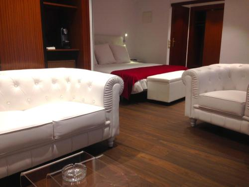 Suite Junior con chimenea y acceso al spa Hotel Del Lago 16