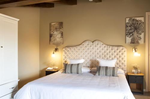 Suite Junior con terraza Hotel Mas De Cebrian 8