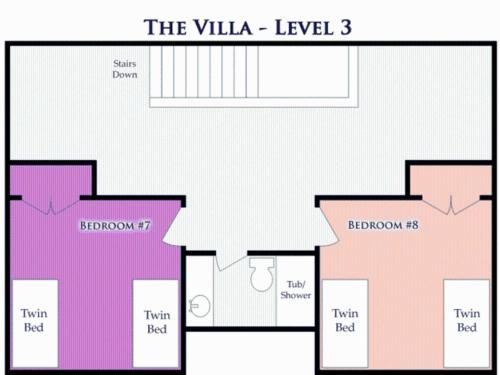 The Villa, Cabins at Garden City Photo