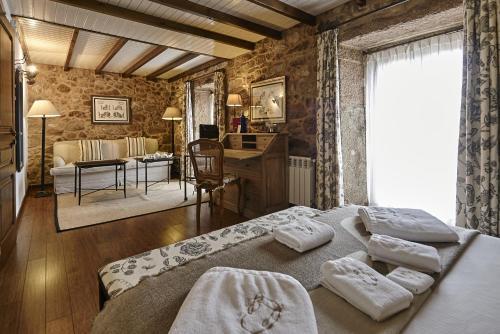 Habitación Doble Superior - Uso individual Hotel Rustico Lugar Do Cotariño 8