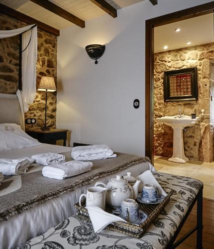 Habitación Doble Superior Hotel Rustico Lugar Do Cotariño 15