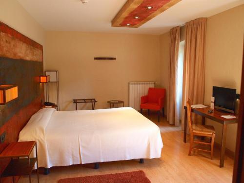 Habitación Doble - 1 o 2 camas Hotel Santa Cristina Petit Spa 6