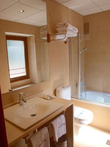 Habitación Doble con cama supletoria - 1 o 2 camas Hotel Santa Cristina Petit Spa 7