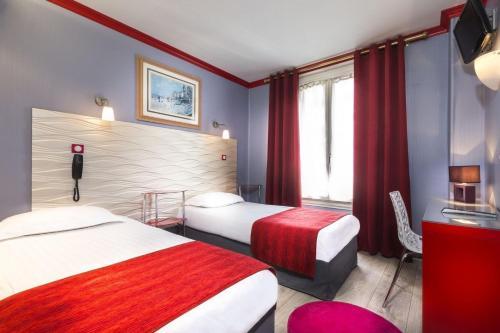 Hôtel Maubeuge Gare du Nord impression