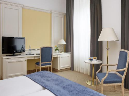 Kasteel-overnachting met je hond in Welcome Hotel Residenzschloss Bamberg - Bamberg