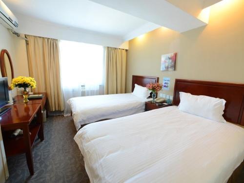 GreenTree Inn Suzhou Hanshan Temple Binhe Road Subway Station Business Hotel impression