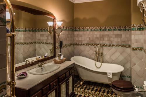 Doppelzimmer mit Badewanne - Einzelnutzung Hotel Villa Retiro 9