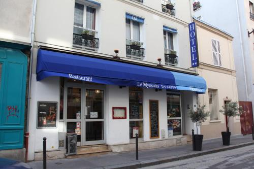 Le myosotis h tel 37 rue de l 39 aude 75014 paris for 108 boulevard jourdan paris