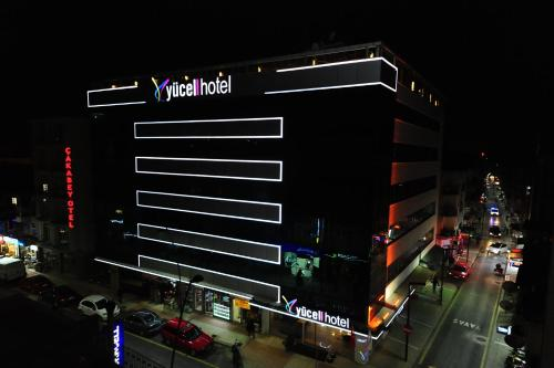 Usak Yucel Hotel ulaşım