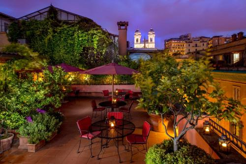 The Inn At The Spanish Steps Small Luxury Hotels Rome In Italy