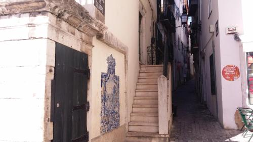 Alfama Apartment with Balcony.  Mynd 17