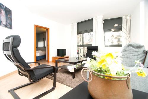 Apartment Bright Sagrada Familia impression