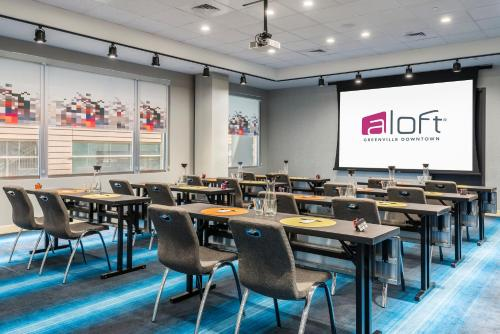 Aloft Greenville Downtown Photo