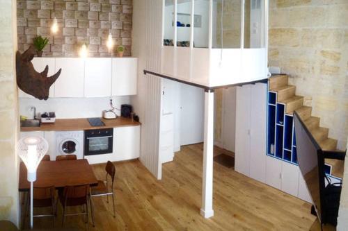 Appartement st michel location saisonni re 16 rue des for Location appartement atypique bordeaux 33000